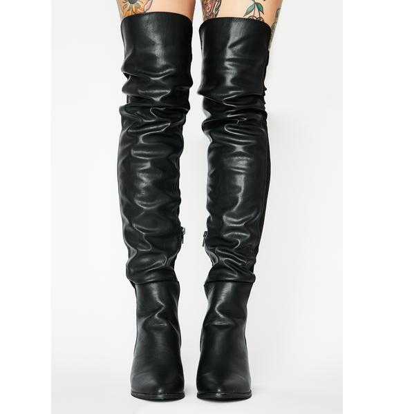 Onyx Wicked Toxic Rider Boots