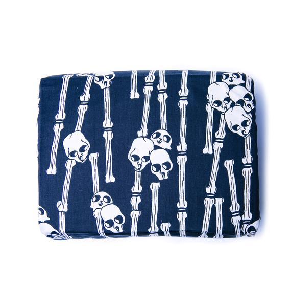 Vodoo Skulls and Bones Duvet Cover