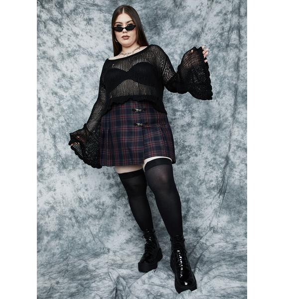 dELiA*s by Dolls Kill Brb Coven's Calling Knit Sweater