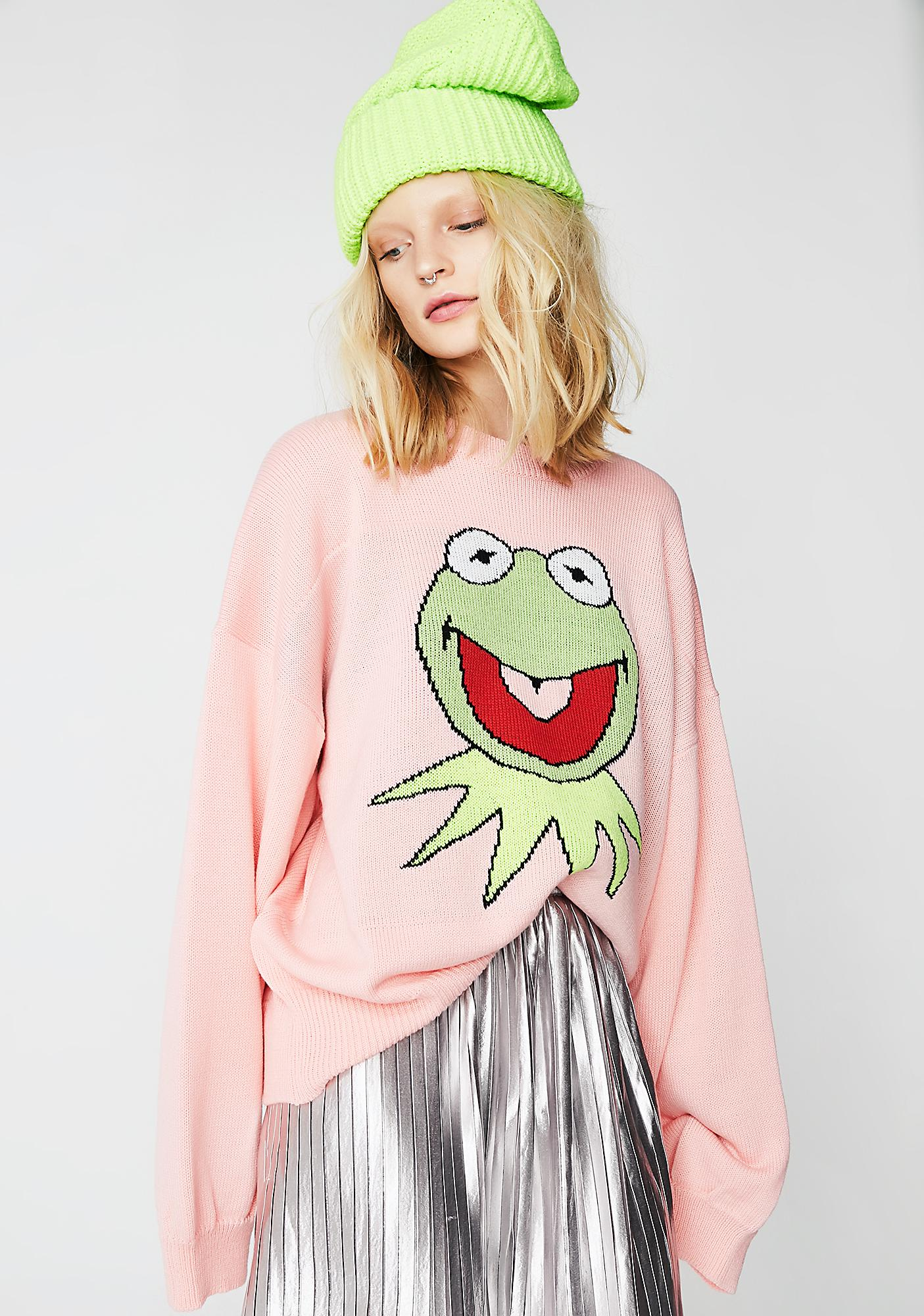 Little Sunny Bite LSB X Muppets Kermit Big Knit