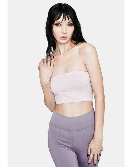 Plush Love Cropped Tube Top