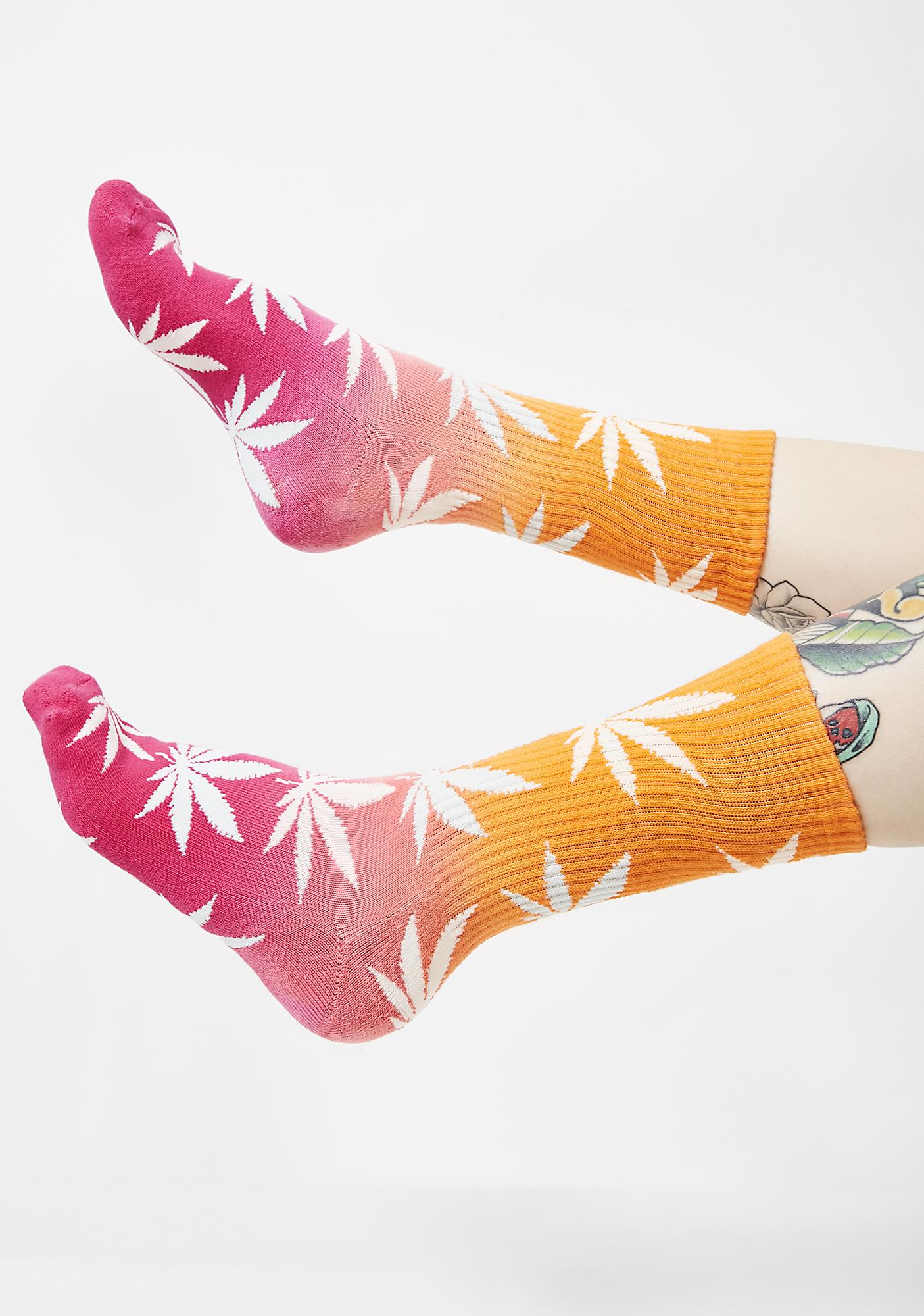 HUF Gradient Plantlife Socks