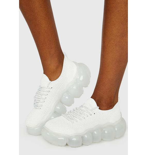 Bliss Only Clouds Below Bubble Sneakers