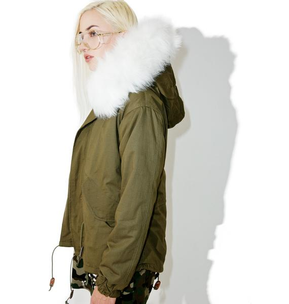 Whereabouts Faux Fur Parka