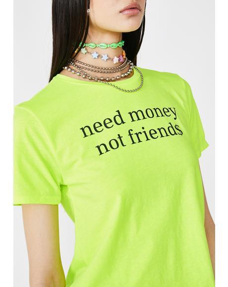 Money Mami Neon Tee