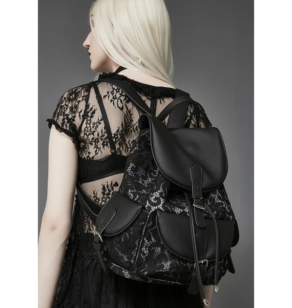 Widow Dear Melancholy Lace Backpack