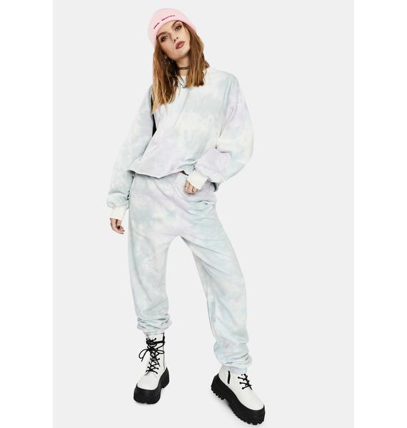 Re Named Ibiza Tie Dye Sweatpants
