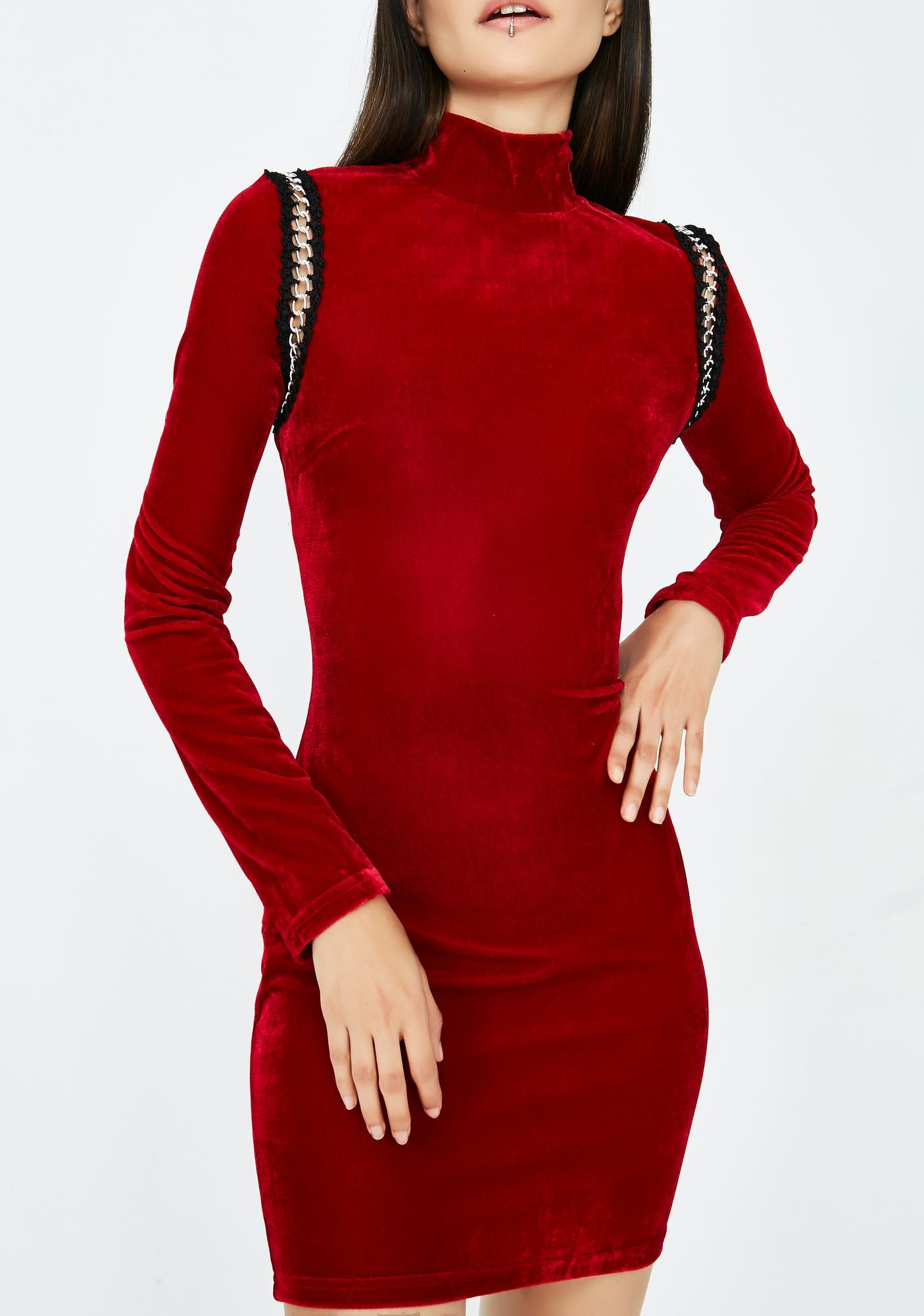 Chain Gang Mini Dress