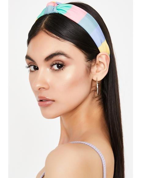 Bae School Spirit Knot Headband