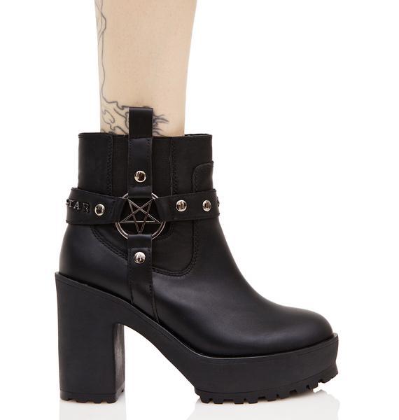 Killstar Winona Western Boots