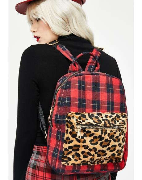 Plaid To The Bone Backpack