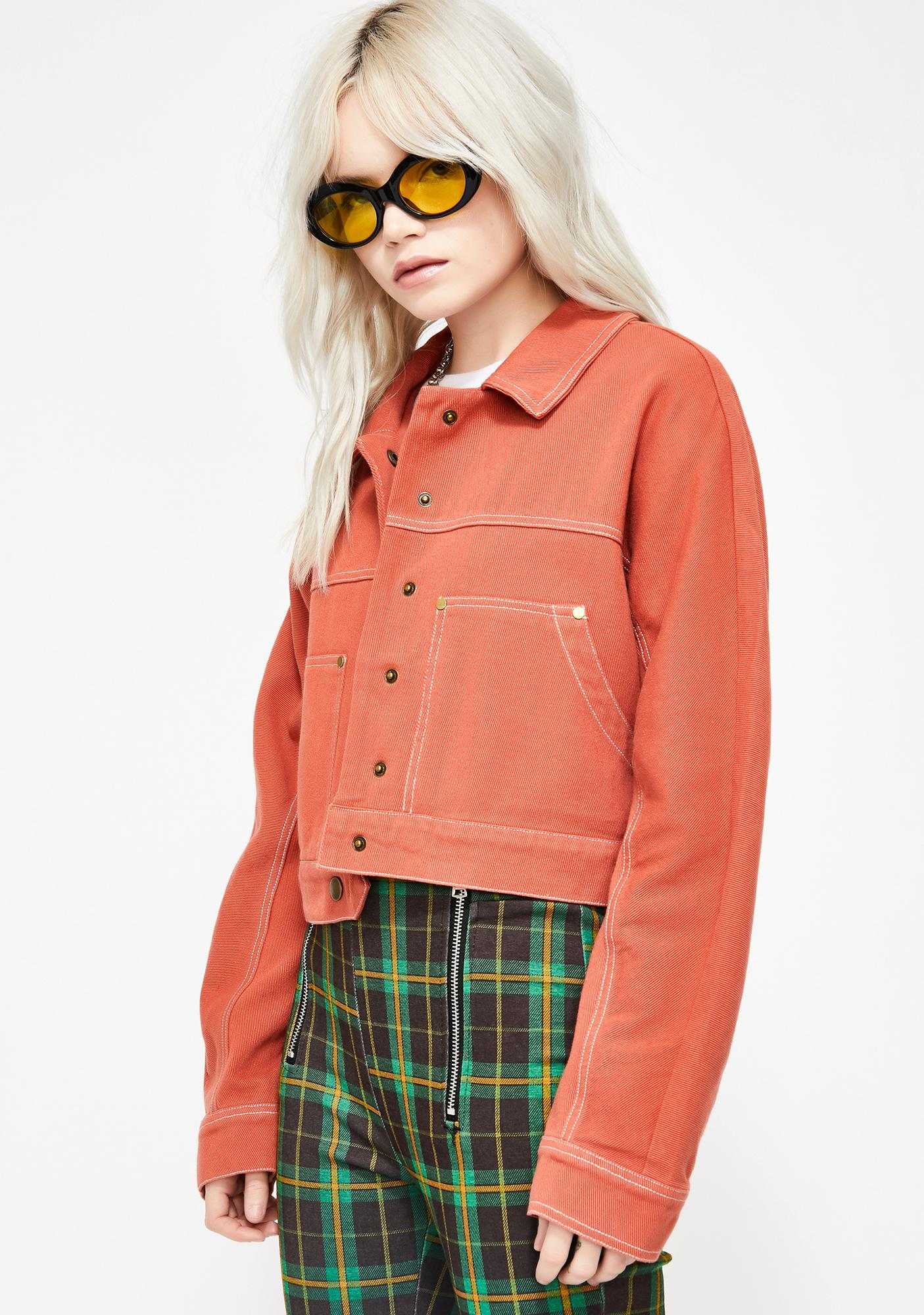 Sikk Situation Cropped Jacket