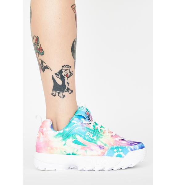 Fila Tie Dye Disruptor II Sneakers