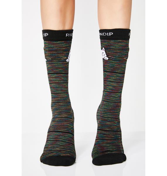 RIPNDIP Peek A Nermal Socks
