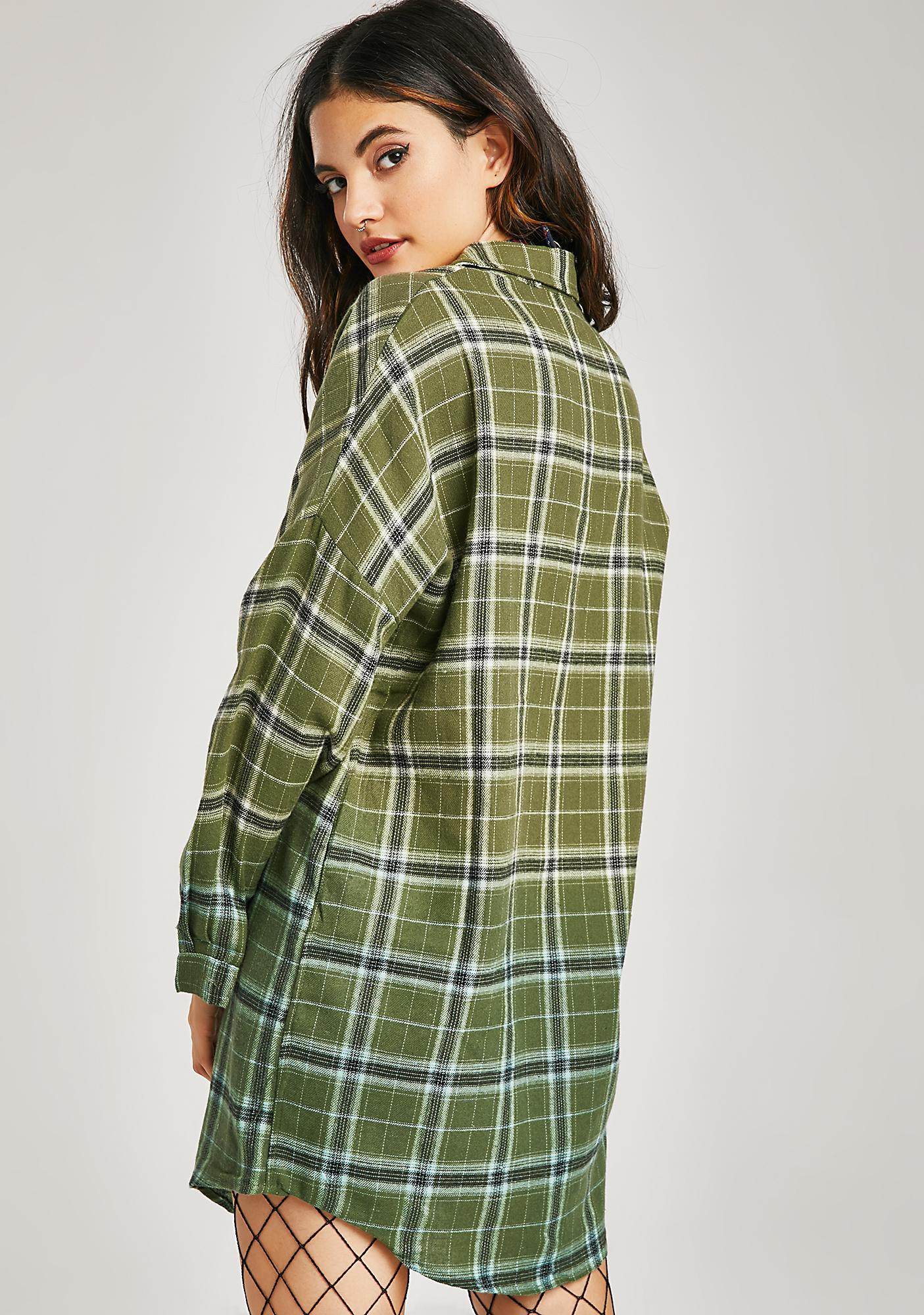 Class Rebel Plaid Dress