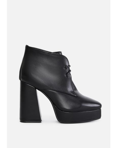 Most Likely To Succeed Ankle Boots