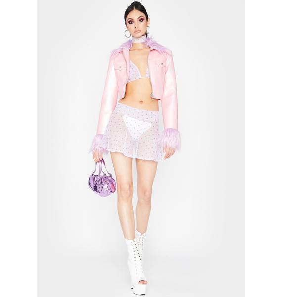Want My Heart Skirt Set