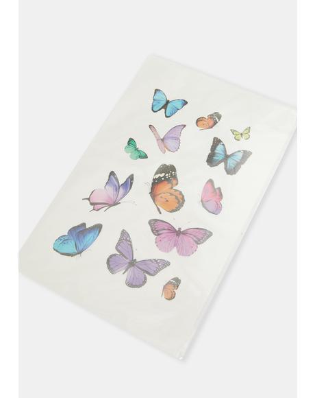 Butterflies Transfer Tattoos