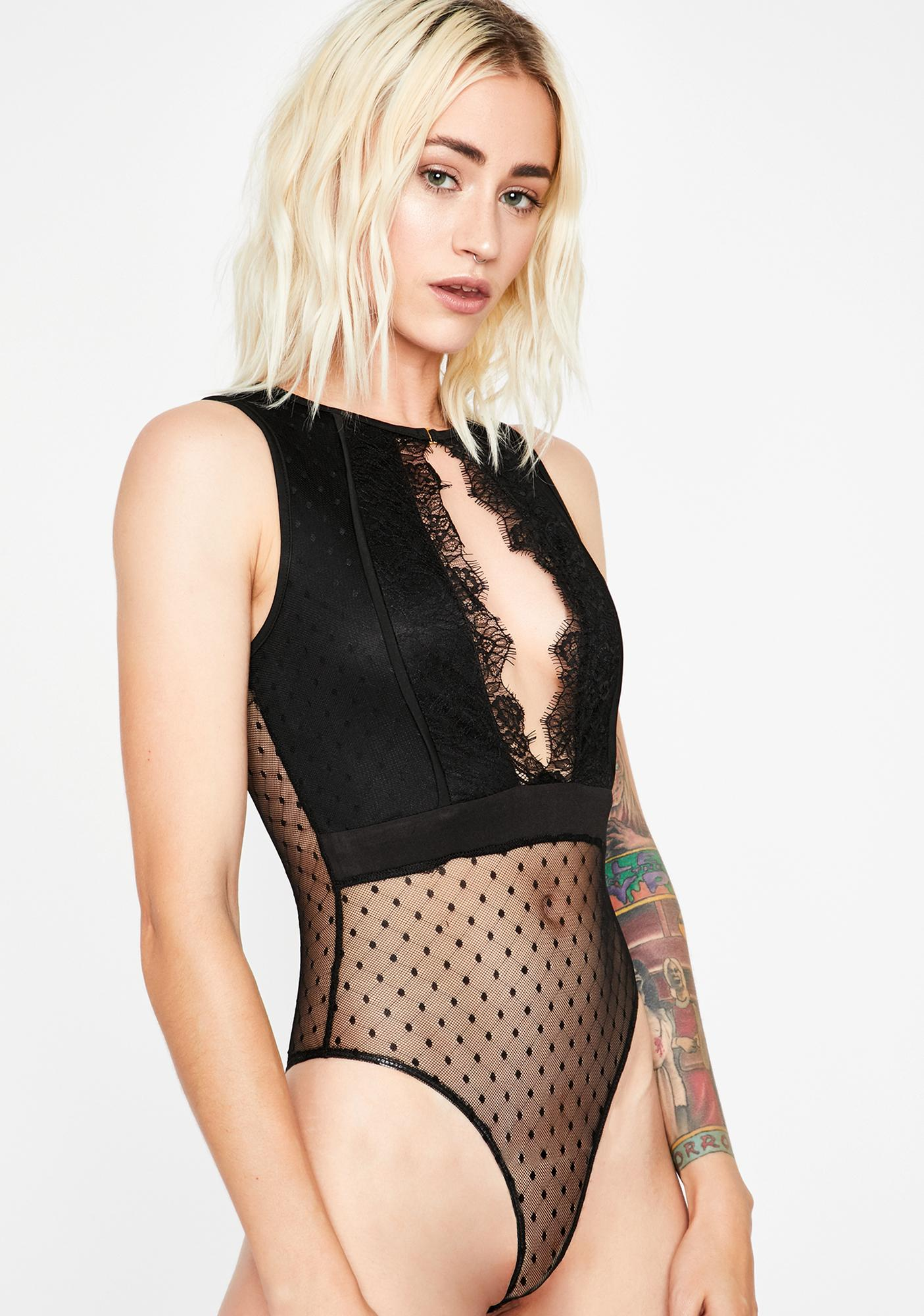 Emotional Fling Cut-Out Bodysuit
