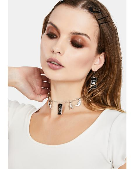 Moonshine Magic Chain Choker