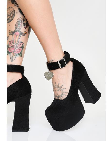 Feline Good Platform Heels