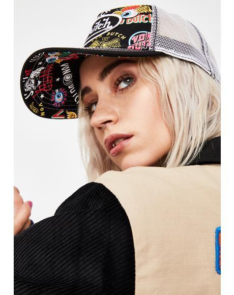 Jax All Over Print Trucker Hat