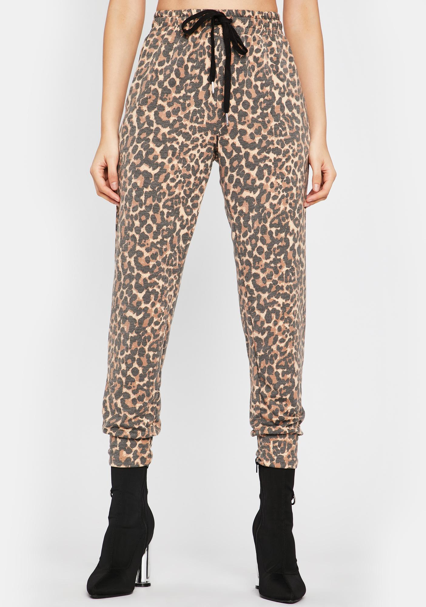 Swift Baddie Leopard Joggers