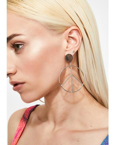 Brings Me Peace Earrings