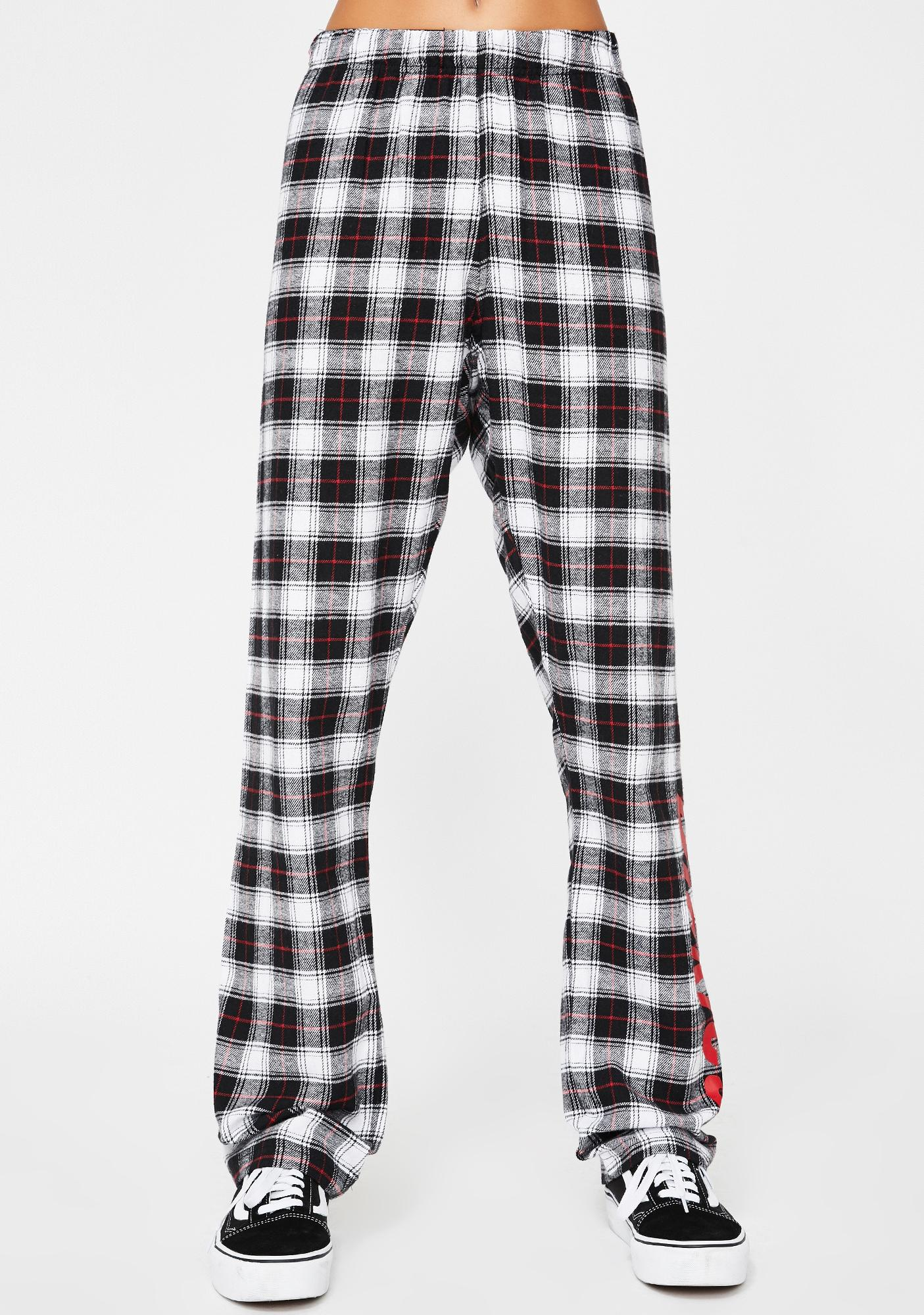 Plaid Flannel Lounge Pants by Dickies Girl