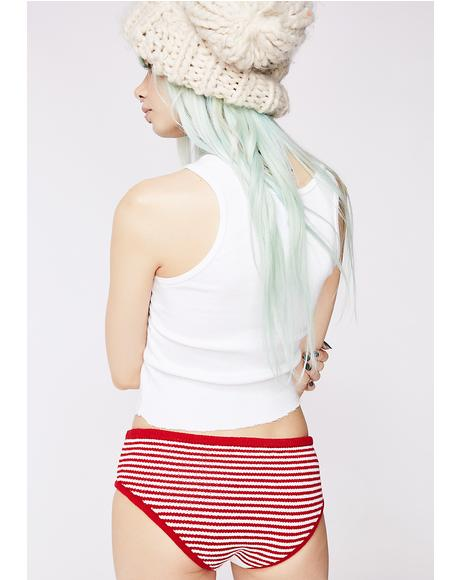 Cherry On Top Knit Panty
