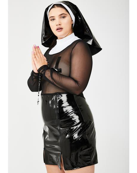 Baddie Mama Don't Preach Costume