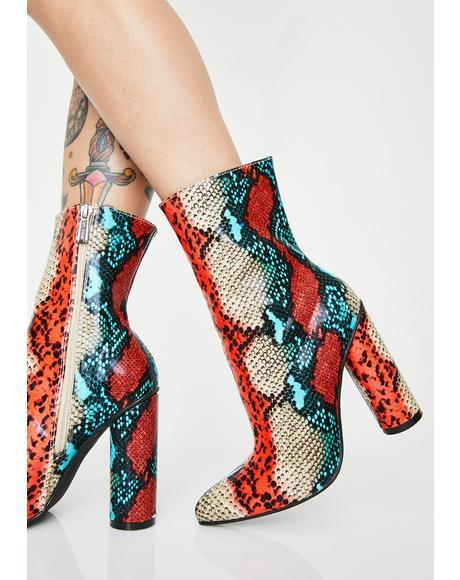 Medusa Slay Ankle Boots