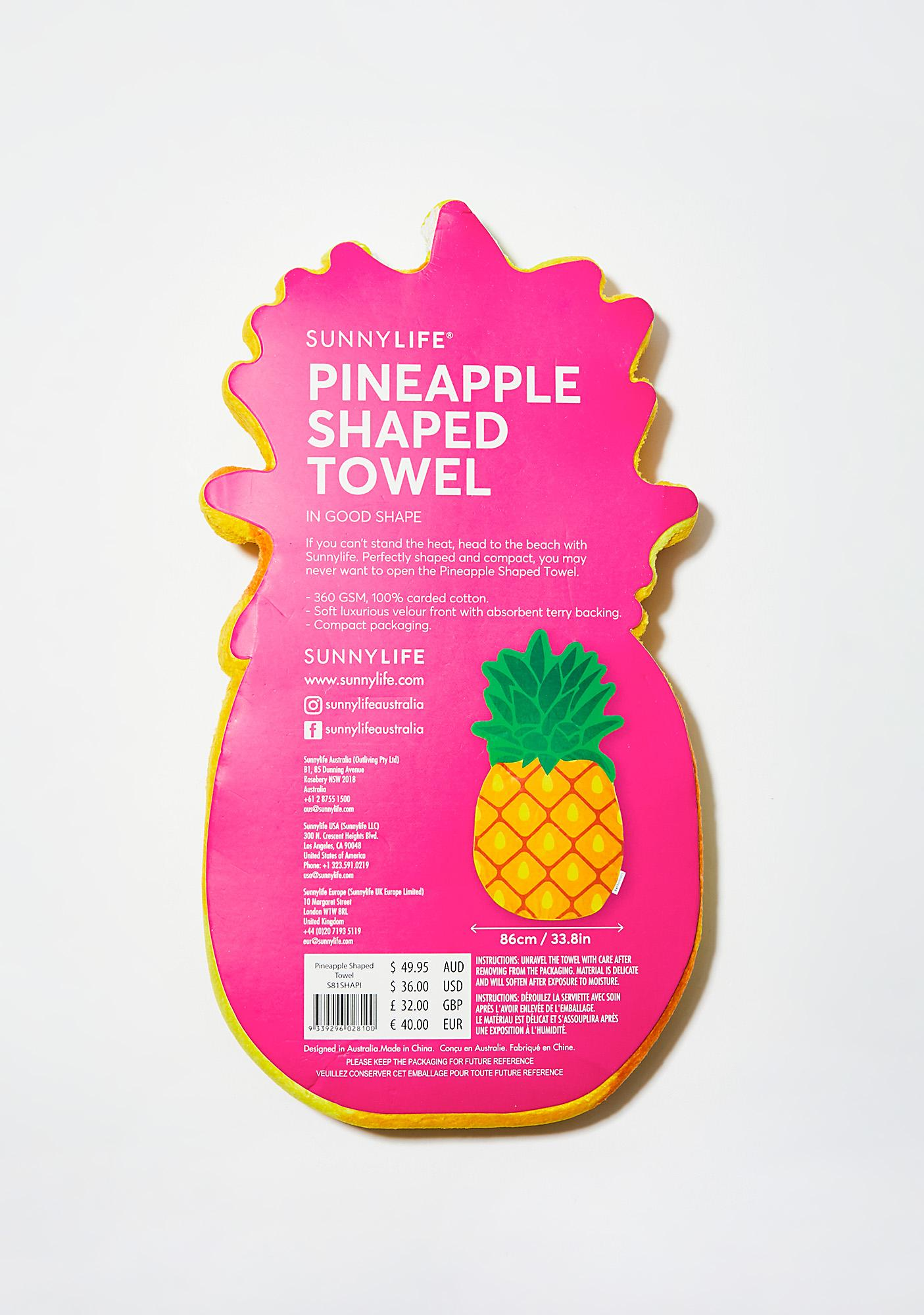Pineapple Exxxpress Towel