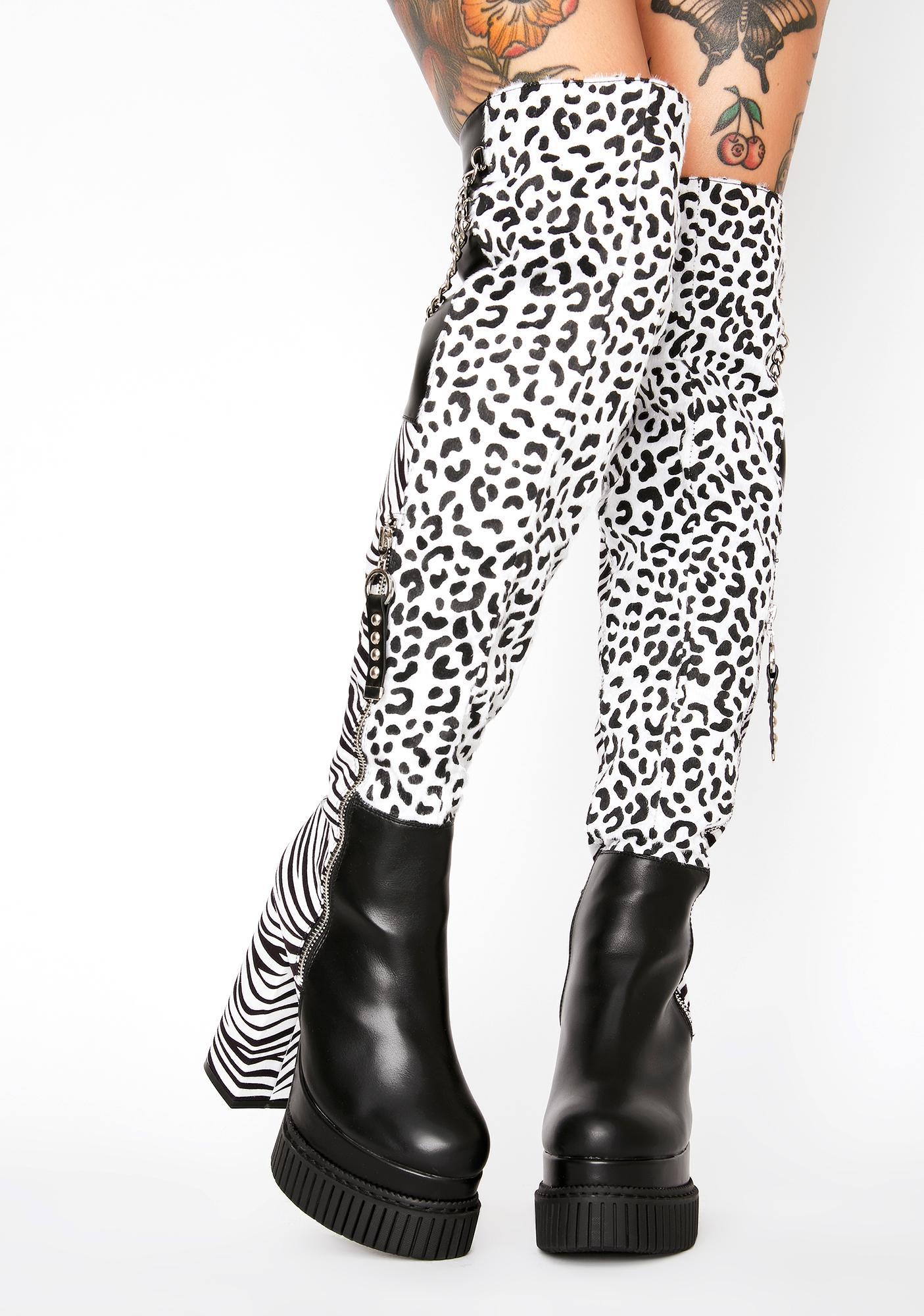 Lamoda Wild Love Thigh High Boots