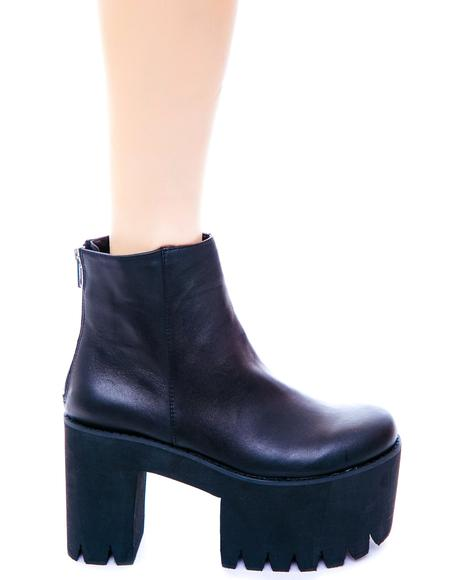 Haven Double Stacked Bootie