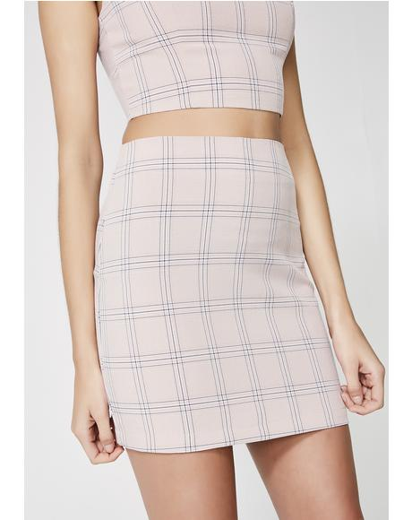 Cuttin' Class Mini Skirt