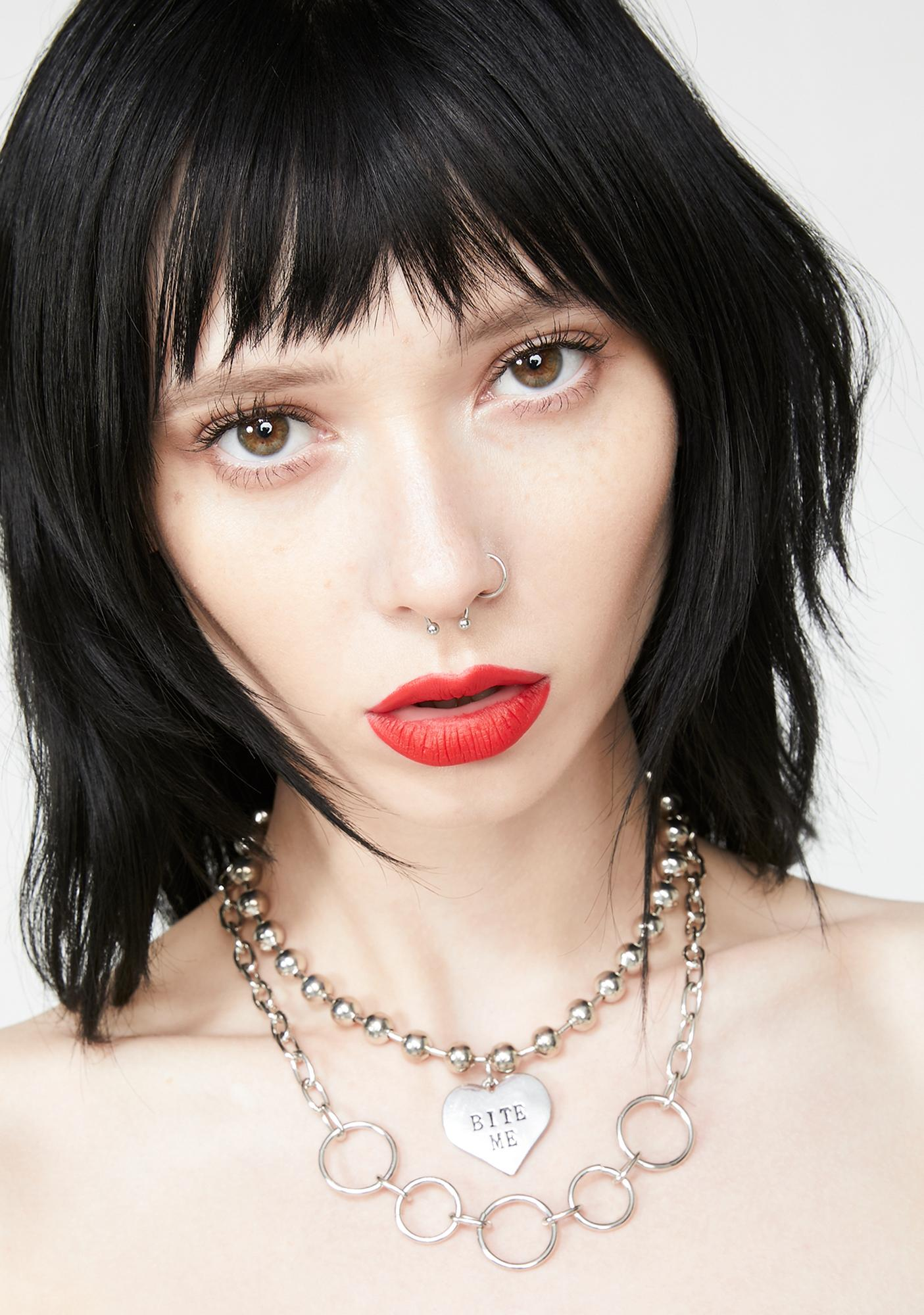 Mouthful Layered Chain Necklace