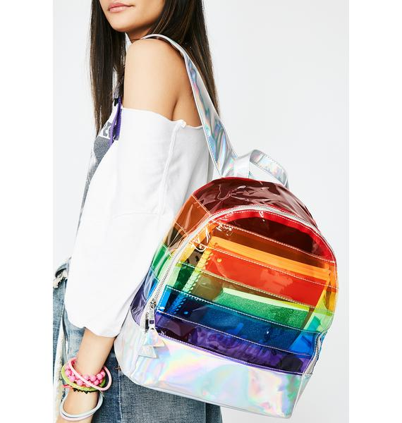 Y.R.U. Multi Transparent Backpack