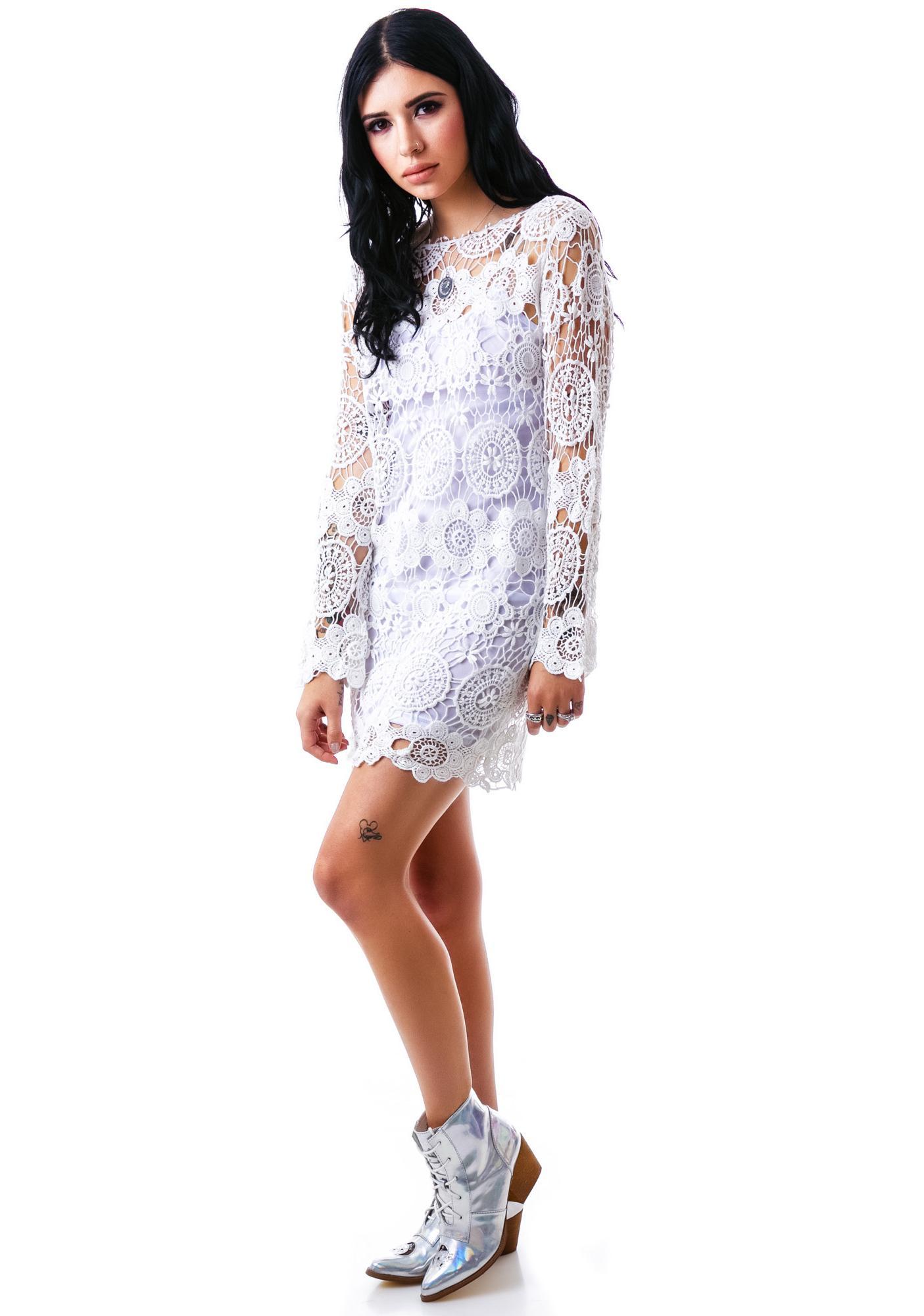 Summer Of Love Crochet Dress