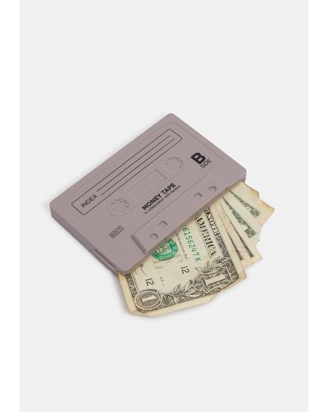Slate Sick Jams Cassette Mix Tape Wallet