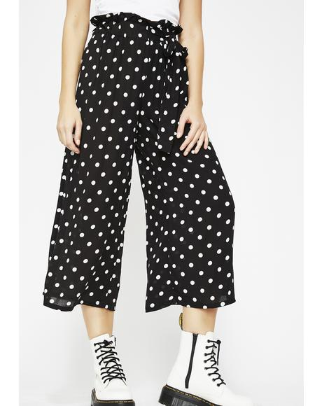 On The Dot Cropped Pants
