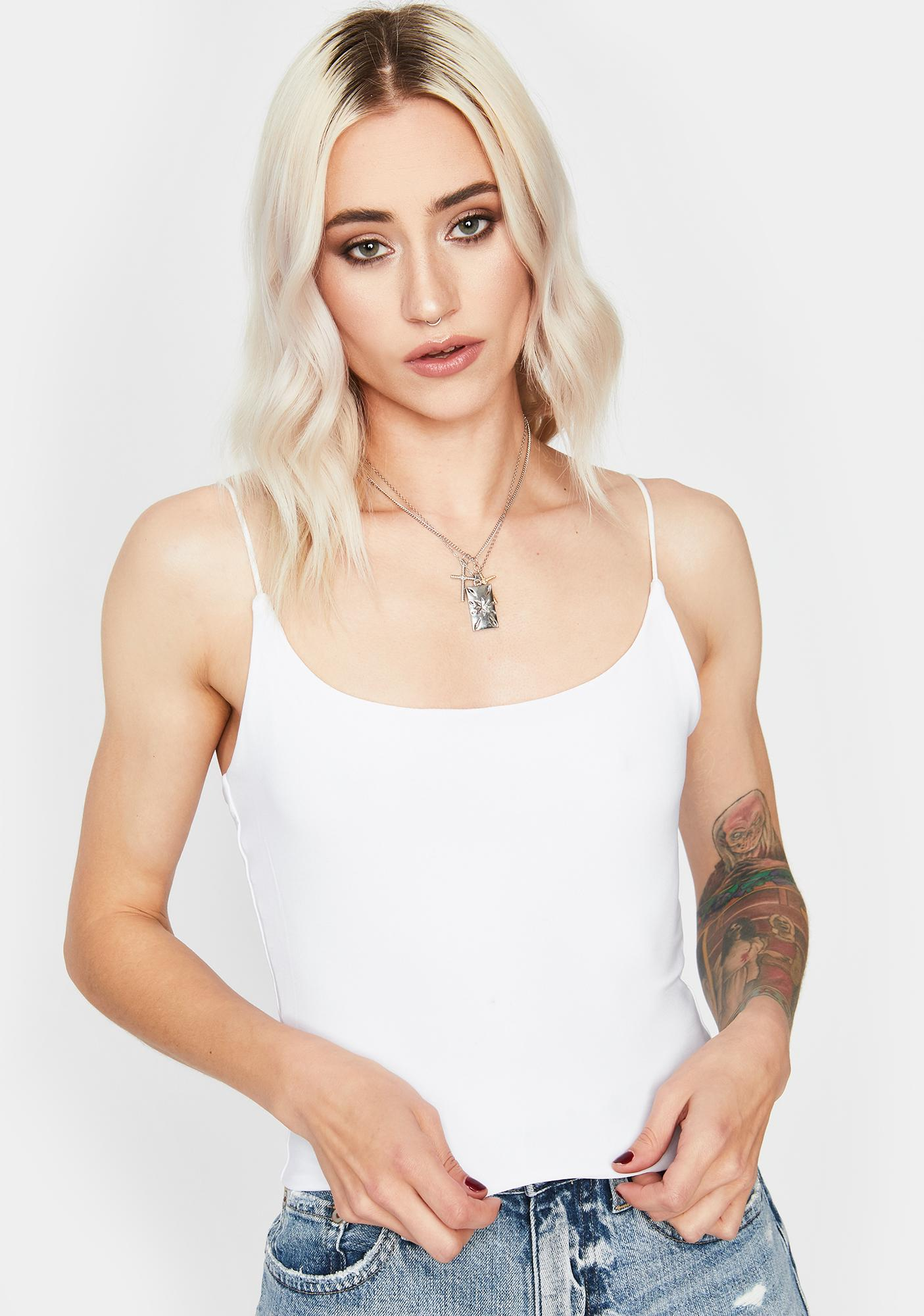 Angel This Is It Crop Tank
