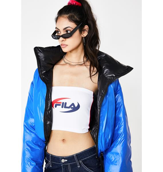 Fila Frosted Josefa Tube Top