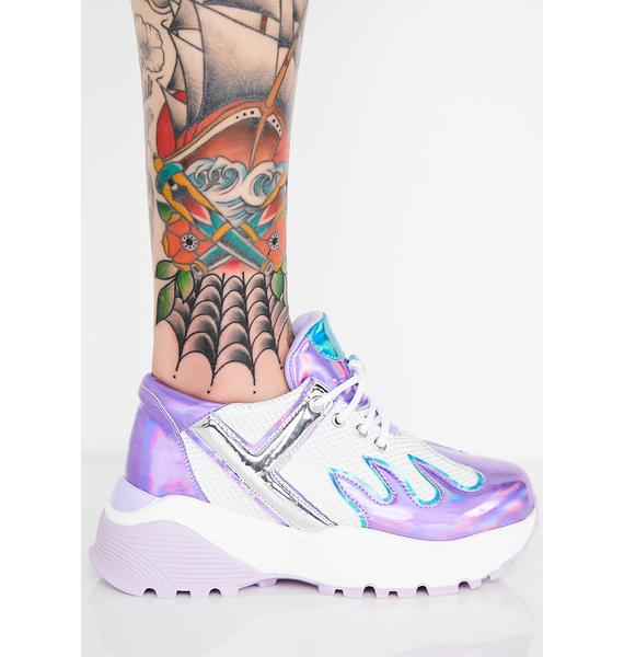 Y.R.U. Magical Blaz3 Platform Sneakers