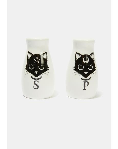 Cat Salt and Pepper Set