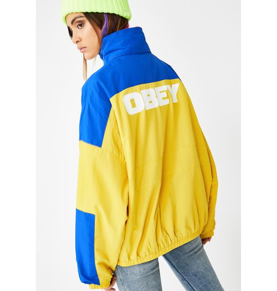 Obey Autumn Spice Bruges Oversized Jacket