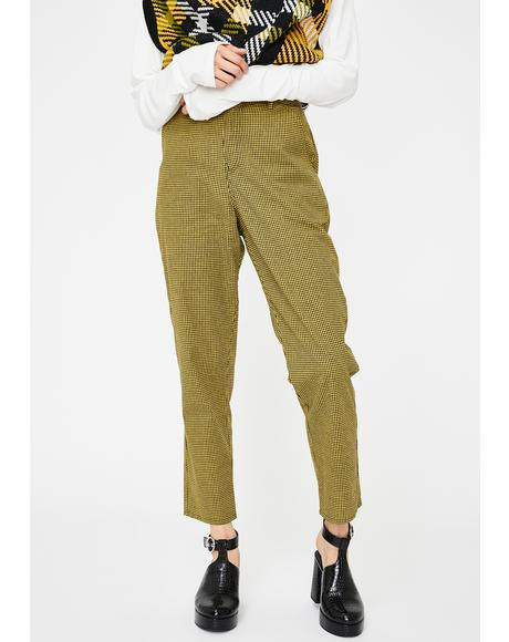 Analogue Straight Leg Pants