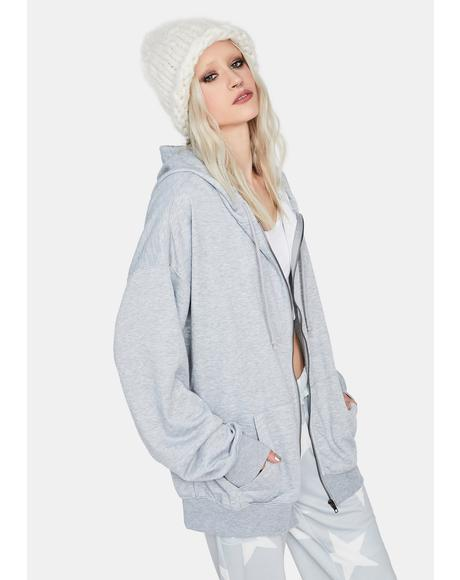 Misty Tough As Nails Oversized Hoodie