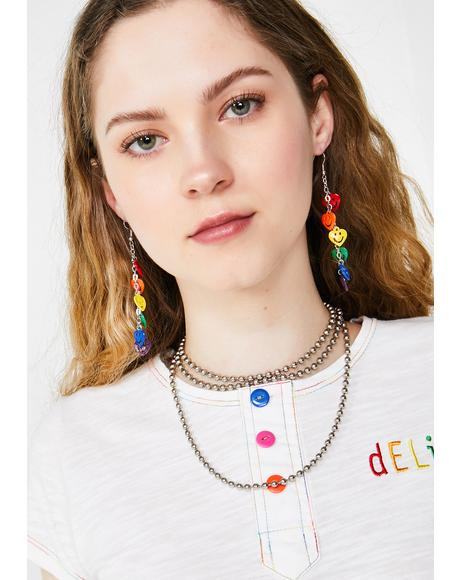 High Spirits Rainbow Earrings