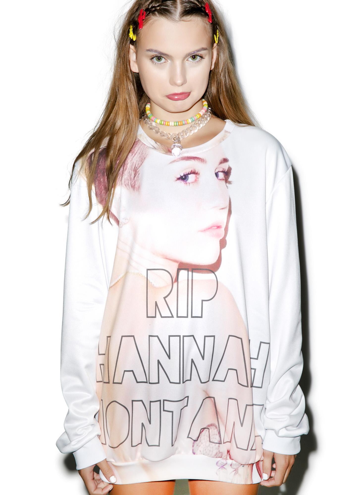 RIP Pop Culture Sweater